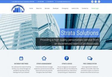 web design tamworth united strata