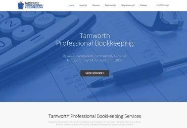 tamworth-bookkeeping website design