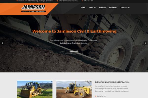jamieson civil tamworth website