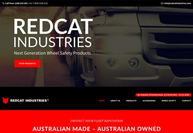 redcat web design