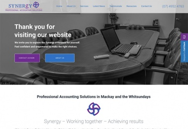 synergy web design